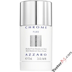 Azzaro Chrome Pure део-стик 75 ml за мъже