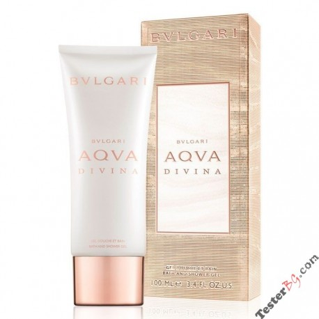 Bvlgari Aqua Divina Shower Gel душ гел за жени 100 ml