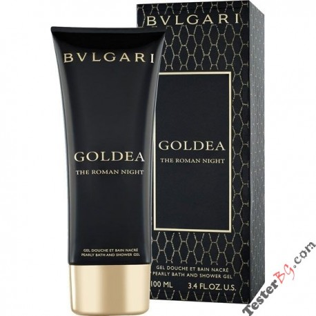 Bvlgari Goldea The Roman Night Shower Gel душ гел за жени 100 ml