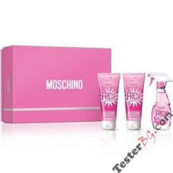 Moschino Fresh Couture Pink подаръчен комплект за жени EDT 50 ml + BL 100 ml + SG 100 ml