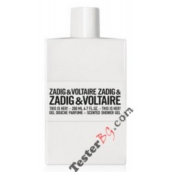 Zadig & Voltaire This Is Her! Shower Gel душ гел за жени 200 ml
