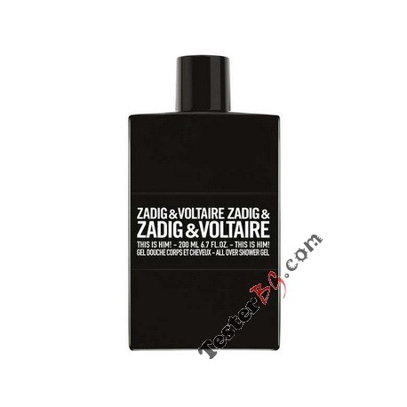 Zadig & Voltaire This is Him! Shower Gel душ гел за мъже 200 ml