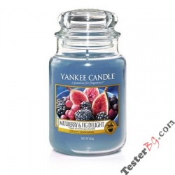 Yankee Candle Mulberry Fig Delight ароматна свещ 623 гр.