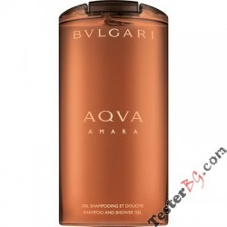 Bvlgari Aqva Amara Shower Gel душ гел за мъже 200 ml