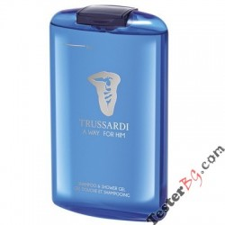 Trussardi A Way for Him Shower Gel душ гел за мъже 200 ml