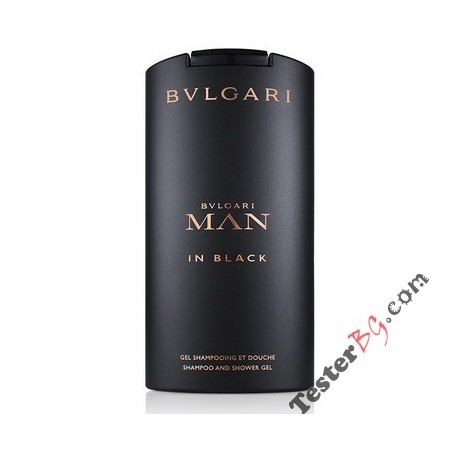 Bvlgari Man in Black Shower Gel душ гел за мъже 200 ml